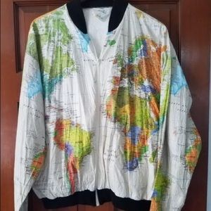 Vintage Rare World Tyvek Jacket 1989